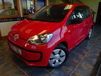 2012 VOLKSWAGEN UP 1.0 TAKE UP 3d 59 BHP £4000.00