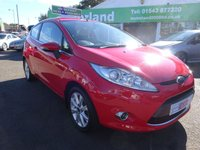 USED 2010 60 FORD FIESTA 1.2 ZETEC 3d 81 BHP **JUST ARRIVED **ALLOY WHEELS **AIR CON **6 MONTHS WARRANTY