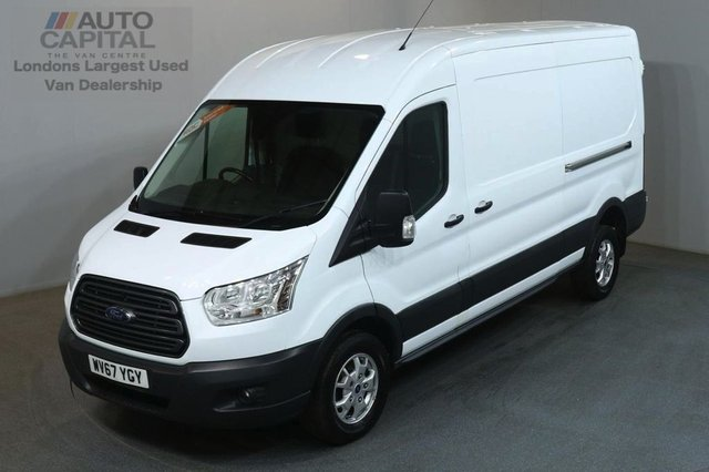 2017 67 FORD TRANSIT 2.0 350 L3 H2 129 BHP LWB M/ROOF TREND AIR CON EURO 6 VAN