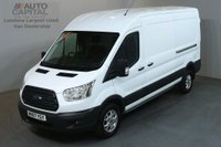 USED 2017 67 FORD TRANSIT 2.0 350 L3 H2 129 BHP LWB M/ROOF TREND AIR CON EURO 6 VAN AIR CONDITIONING EURO 6 ENGINE