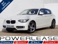 2014 BMW 1 SERIES 2.0 116D SPORT 5d 114 BHP £8149.00