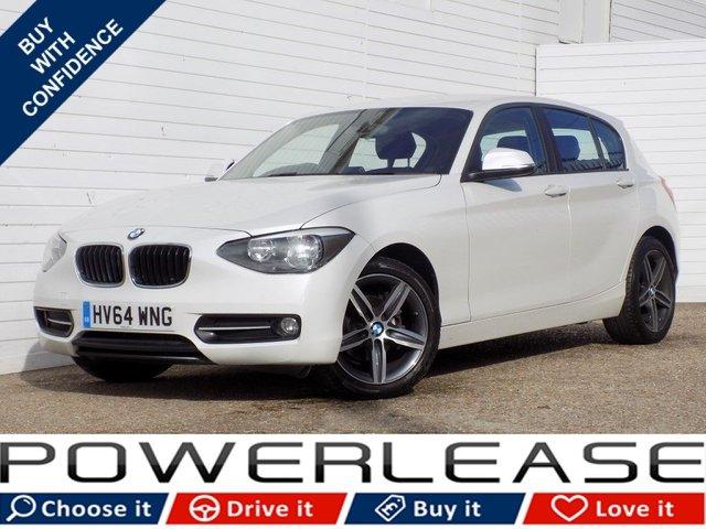 USED 2014 64 BMW 1 SERIES 2.0 116D SPORT 5d 114 BHP SAT NAV DAB 30 POUND TAX