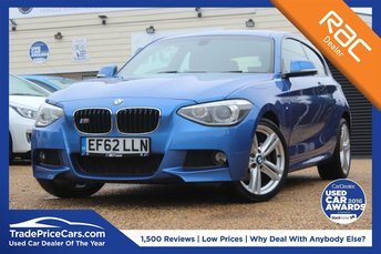 2012 BMW 1 SERIES 2.0 125D M SPORT 3d AUTO 215 BHP £12950.00