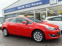 2015 VAUXHALL ASTRA 1.6 ELITE 5dr (13,000mls.only) £8695.00
