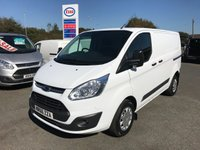 2016 FORD TRANSIT CUSTOM  290 TREND 2.0 TDCi 130 6-SPEED L1 H1 SWB £11995.00