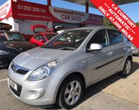 2011 HYUNDAI I20 1.4 COMFORT 5d AUTO 99 BHP **ONLY 47,000 MILES** £4995.00