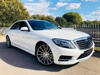 2016 MERCEDES-BENZ S CLASS 3.0 S 350 D L AMG LINE EXECUTIVE 4d AUTO 255 BHP £42000.00
