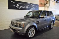 USED 2012 61 LAND ROVER RANGE ROVER SPORT 3.0 SDV6 HSE 5d AUTO 255 BHP 6 LANDROVER STAMPS TO 73K - NAV - LEATHER - R/CAMERA - PRIVACY GLASS
