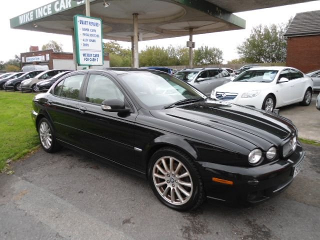 USED 2008 08 JAGUAR X-TYPE 2.0 S 4d 129 BHP LOTS OF SERVICE HISTORY