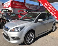2009 FORD FOCUS 1.6 ZETEC S S/S 3d 113 BHP *ONLY 55,000 MILES* £4495.00