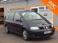 USED 2007 07 SEAT ALHAMBRA 2.0 REFERENCE TDI 5d 139 BHP Bluetooth -7 Seats - AUX