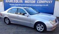 2002 MERCEDES-BENZ E CLASS 2.7 E270 CDI AVANTGARDE 4d AUTO 177 BHP £1999.00