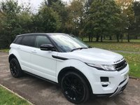 2013 LAND ROVER RANGE ROVER EVOQUE 2.2 SD4 DYNAMIC AWD 5DR AUTO £SOLD