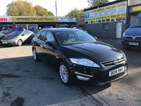 2014 FORD MONDEO 2.0 ZETEC BUSINESS EDITION TDCI 5 DOOR AUTOMATIC 138 BHP IN BLACK WITH ONLY 56000 MILES £7499.00