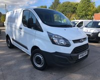 USED 2016 66 FORD TRANSIT CUSTOM 2.2 290 LR P/V 1d 99 BHP REAR RACKING