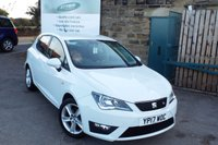USED 2017 17 SEAT IBIZA 1.2 TSI FR TECHNOLOGY 5d 89 BHP Touch Screen SAT NAV....Bluetooth with Media Streaming...ONE Owner