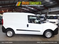 """USED 2013 13 VAUXHALL COMBO VAN 1.2 2000 L1H1 CDTI S/S ECOFLEX  90 BHP-ONE OWNER-LOW MILEAGE """"YOU'RE IN SAFE HANDS"""" - AA DEALER PROMISE"""