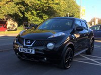 USED 2012 62 NISSAN JUKE 1.5 ACENTA PREMIUM DCI 5d 110 BHP Satellite navigation, Rear parking camera, climate control, Privacy glass, alloys (black), roof spoiler, cruise control, service history.