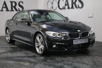 2015 BMW 4 SERIES 3.0 435D XDRIVE CONVERTIBLE M SPORT 2d 309 BHP £21995.00