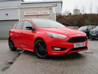 2015 FORD FOCUS 1.5 ZETEC S RED EDITION 5d 180 BHP £11450.00