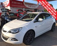 2012 VAUXHALL ASTRA 1.6 SRI VX-LINE *1 OWNER* ONLY 49,000 MILES £6495.00