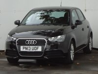 USED 2013 13 AUDI A1 1.2 SPORTBACK TFSI SE 5d 86 BHP GENUINE LOW MILEAGE MODEL WITH HISTORY, ALLOY WHEELS, MEDIA PACKAGE