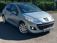 USED 2011 11 PEUGEOT 207 1.6 HDI ALLURE 5d 92 BHP