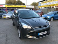 2015 FORD KUGA 2.0 TITANIUM TDCI 5 DOOR 148 BHP IN METALLIC GREY WITH 49000 MILES IN IMMACULATE CONDITION. £11299.00