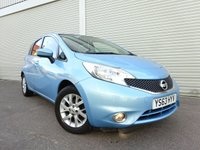USED 2013 63 NISSAN NOTE 1.5 DCI ACENTA 5d 90 BHP