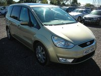 USED 2007 07 FORD GALAXY 2.0 GHIA TDCI 5d 143 BHP Sat nav - Pan roof - Leather - Xenons - Parking sensors