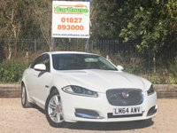 USED 2014 64 JAGUAR XF 2.2 D LUXURY 4dr AUTO Leather, Sat Nav, Camera, FJSH