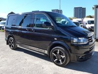 USED 2015 15 VOLKSWAGEN TRANSPORTER 2.0 T32 TDI SPORTLINE KOMBI, 177 BHP, AIR CON, LEATHER SEATS