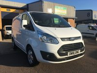 2016 FORD TRANSIT CUSTOM 2.2 270 LIMITED LR P/V 1d 124 BHP £12295.00