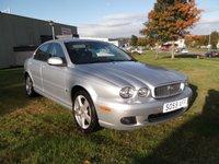 USED 2009 59 JAGUAR X-TYPE 2.2 SE 4d AUTO 145 BHP 48K, FSH, AUTO, FULL LEATHER!