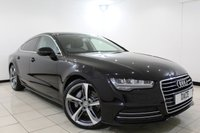 USED 2015 15 AUDI A7 3.0 SPORTBACK TDI ULTRA SE EXECUTIVE 5DR AUTOMATIC 215 BHP 1 Owner FULL SERVICE HISTORY + HEATED LEATHER SEATS + SAT NAVIGATION + PARKING SENESOR + BLUETOOTH + CRUISE CONTROL + MULTI FUNCTION WHEEL + CLIMATE CONTROL + 19 INCH ALLOY WHEELS
