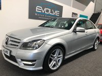USED 2013 63 MERCEDES-BENZ C-CLASS 2.1 C220 CDI BLUEEFFICIENCY AMG SPORT 4d 168 BHP AMG SPORT! FMDSH! MANY EXTRAS!