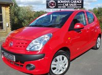 USED 2010 59 NISSAN PIXO 1.0 N-TEC 5d 67 BHP Very Low Miles - 8 Services - £20 Road Tax - 2 Owners