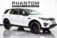 USED 2017 67 LAND ROVER DISCOVERY SPORT 2.0 TD4 HSE BLACK 5d AUTO 180 BHP