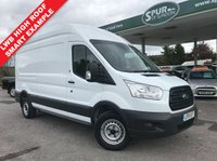 USED 2015 15 FORD TRANSIT 2.2 350 H/R P/V 1d 125 BHP 125 BHP, Long Wheel Base High Roof, One Owner, Finance Arranged.