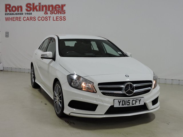 View our 2015 15 MERCEDES-BENZ A-CLASS 1.5 A180 CDI BLUEEFFICIENCY AMG SPORT 5d 109 BHP