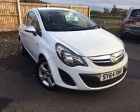 USED 2014 64 VAUXHALL CORSA 1.0 STING ECOFLEX 3d 64 BHP LOW INSURANCE GROUP