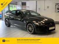 USED 2015 15 JAGUAR XF 2.2 D R-SPORT BLACK 4d AUTO 200 BHP BLACK PACK AND 1 OWNER