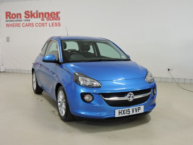 View our 2015 15 VAUXHALL ADAM 1.2 JAM 3d 69 BHP