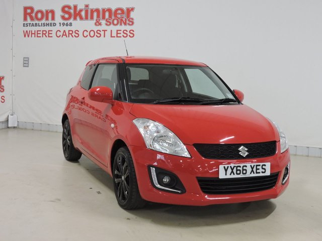 View our 2016 66 SUZUKI SWIFT 1.2 SZ-L 3d 94 BHP