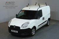 USED 2011 61 FIAT DOBLO 1.2 16V MULTIJET 90 BHP SWB PANEL VAN  ROOF RACK