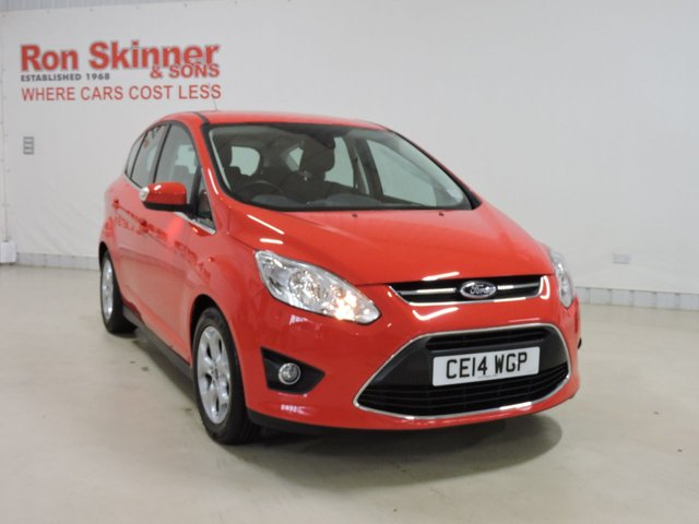 View our 2014 14 FORD C-MAX (102)      1.6 ZETEC 5d 104 BHP with rear parking sensor