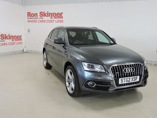 View our 2013 62 AUDI Q5 2.0 TDI QUATTRO S LINE PLUS 5d AUTO 175 BHP