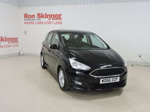 View our 2017 66 FORD C-MAX 1.0 ZETEC 5d 100 BHP with rear parking sensor