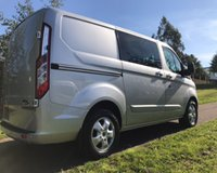 USED 2015 65 FORD TRANSIT CUSTOM 2.2 290 LIMITED LR DCB 1d 124 BHP   NO V-A-T :  NO V-A-T:::PROBABLY THE CLEANEST YOU WILL SEE.