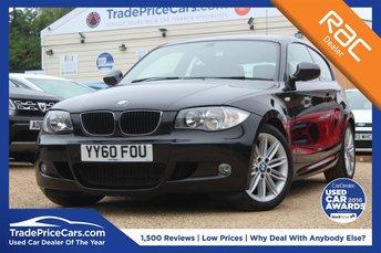 2010 BMW 1 SERIES 2.0 118D M SPORT 3d AUTO 141 BHP £8000.00